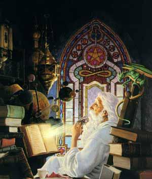 Обучение магии и парапсихологии